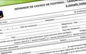Documents licences