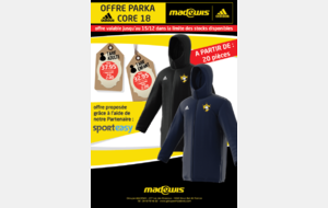 OFFRE SPECIALE PARKA ADIDAS