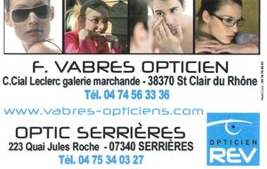 OPTICIEN VABRES